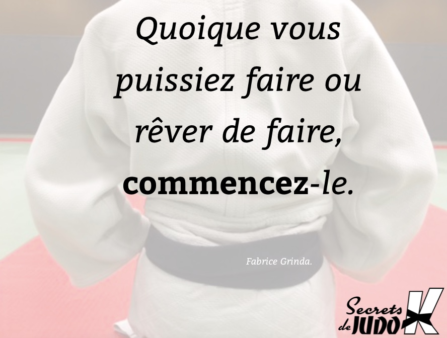 Motivation règle #1 : commencer !