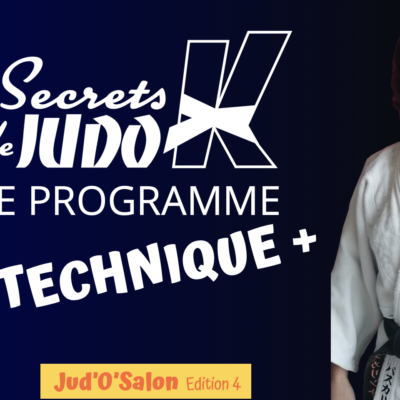 Visuel pour la 4ème édition du programme avancé de Secrets de Judokas