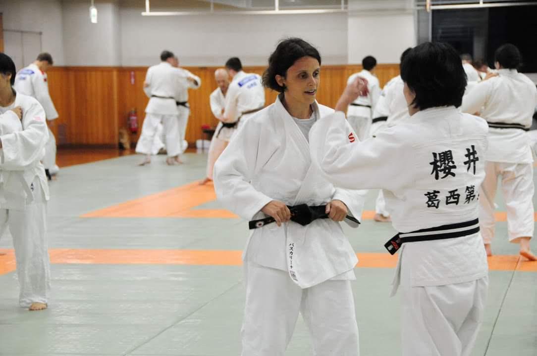 Pascaline Magnes Judo Japon Kodokan Tokyo