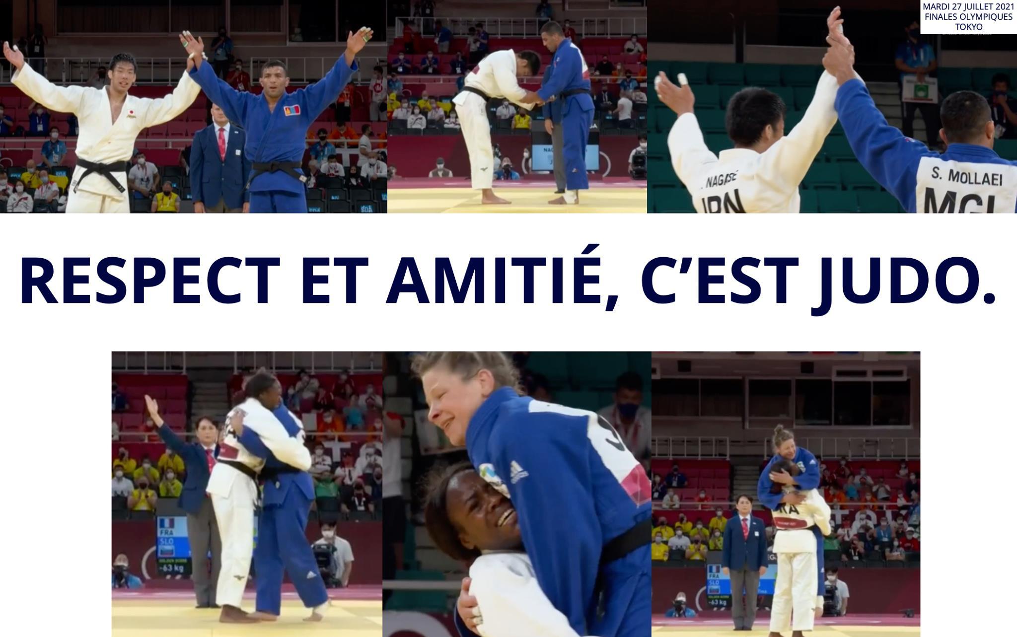 L'amitié judo