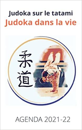 Couverture de l'agenda judo 2021-22